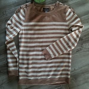 Fenn Wright Manson M brown/cream sweater